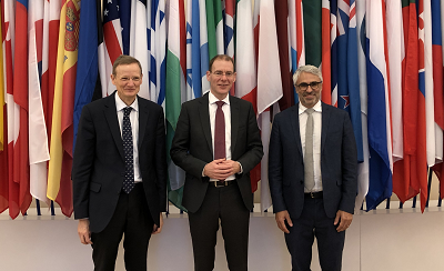 Visit of Mr. Menno Snel, State Secretary for Finance in The Netherlands at the OECD